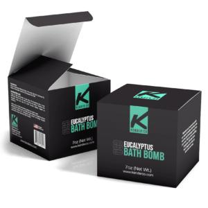Custom Bath Bomb Boxes