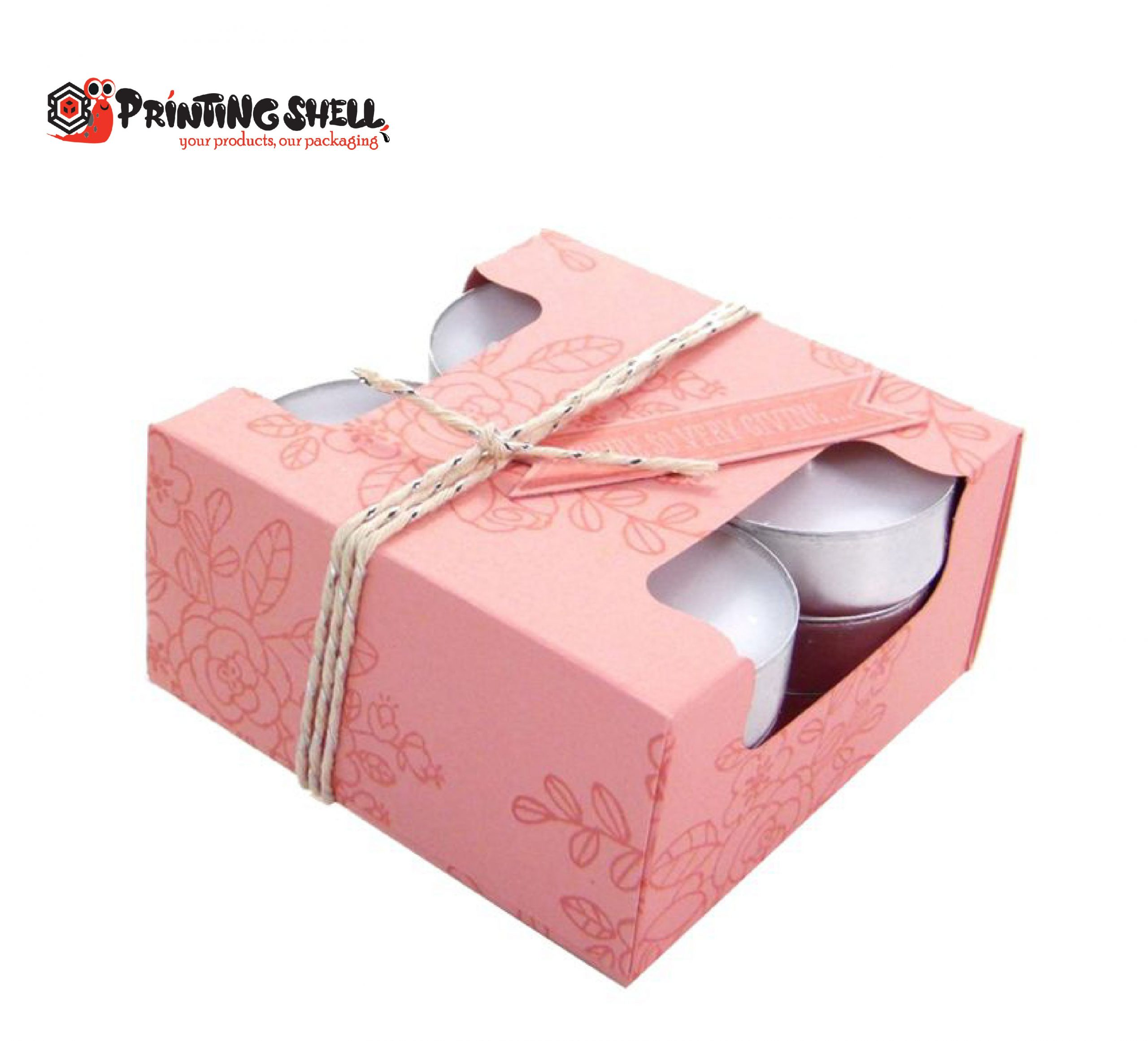 candle packaging boxes