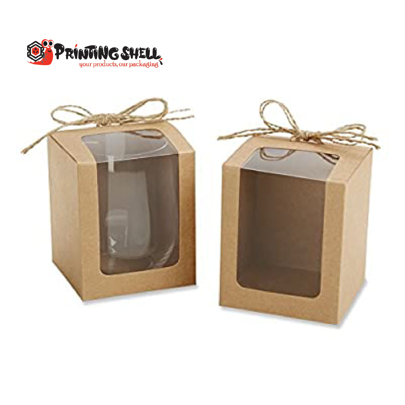 window candle boxes
