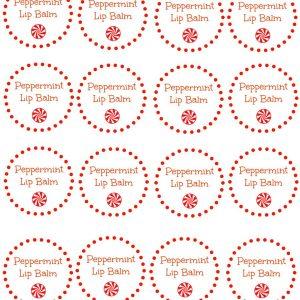 customize lip gloss labels