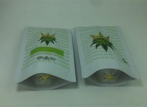 custom weed bags