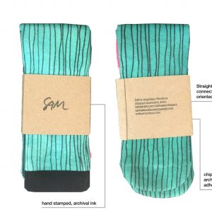 sock wrap labels