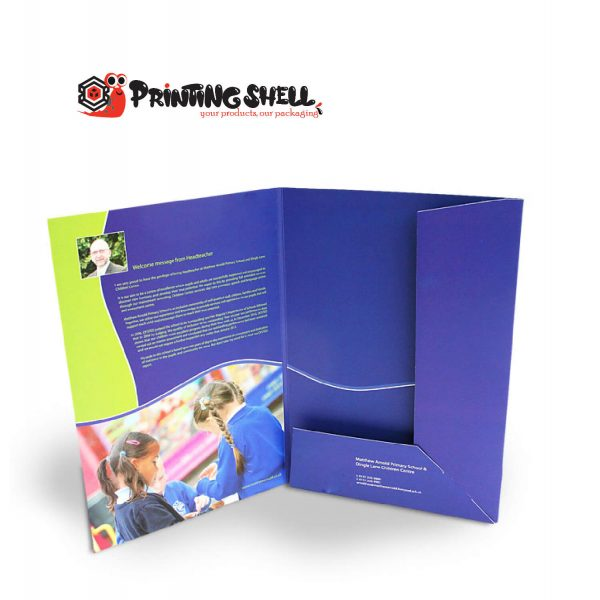 custom presentation folders cheap