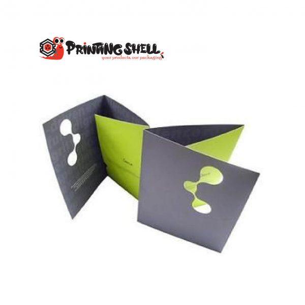 custom folders with pockets