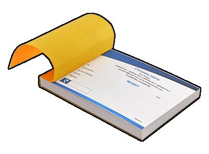 custom invoice booklet