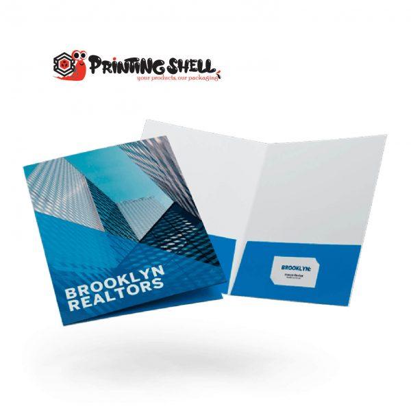 customized presentation folders