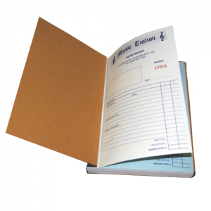 customize receipt book
